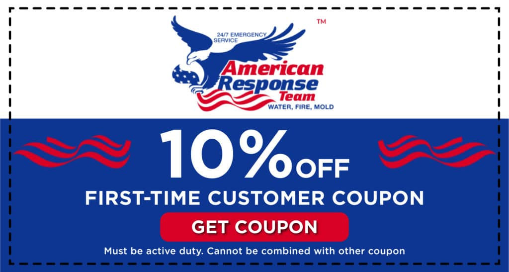 American Response First Time Customer Coupon